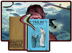 Trilby, Gravity's Rainbow, recommended reading book literature