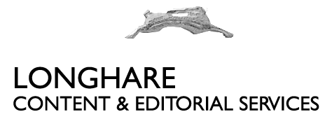 LongHare Content and Editorial Services